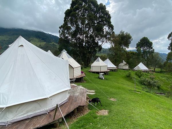Camping en Cocora